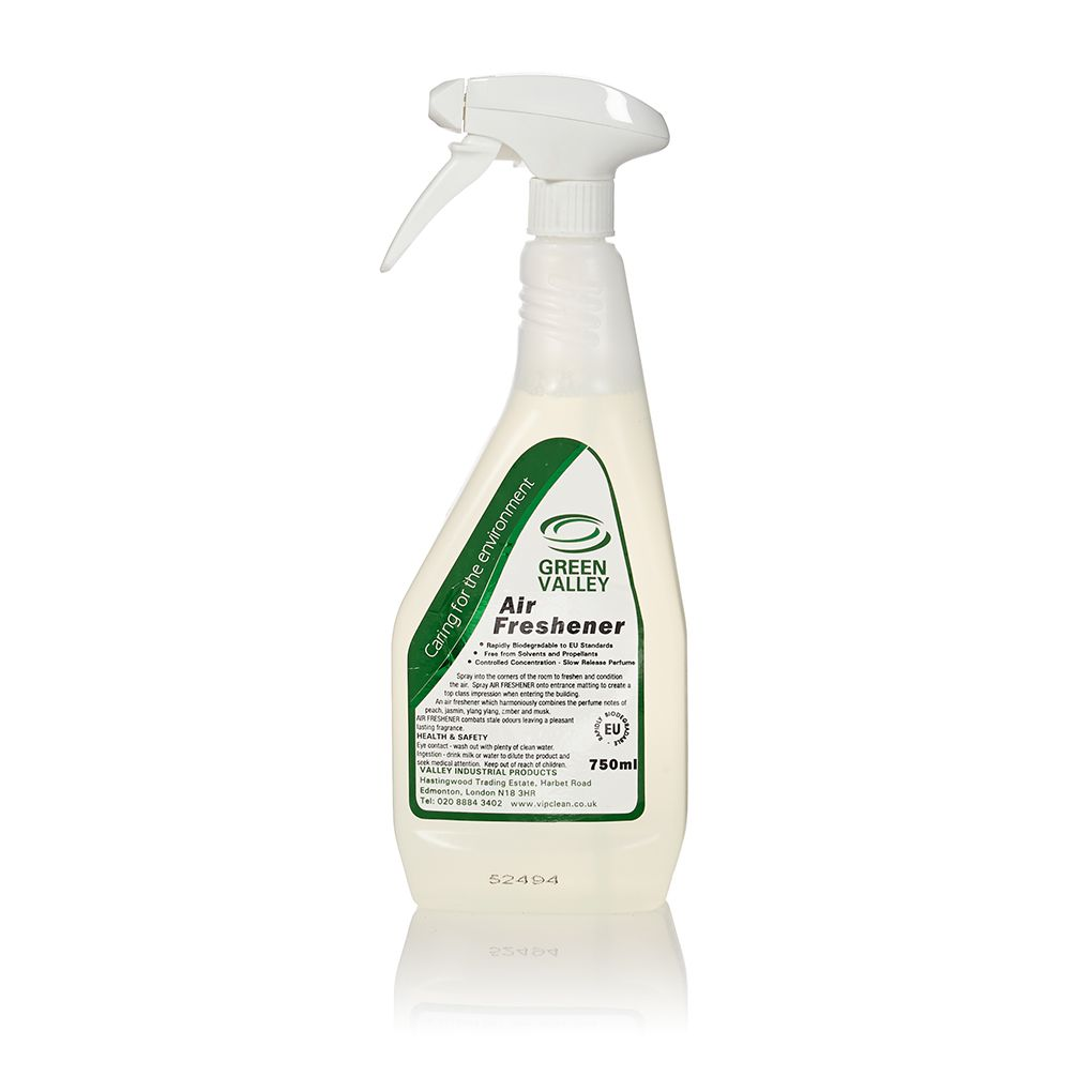 Green Valley Air Freshener 6x750ml Trigger Spray