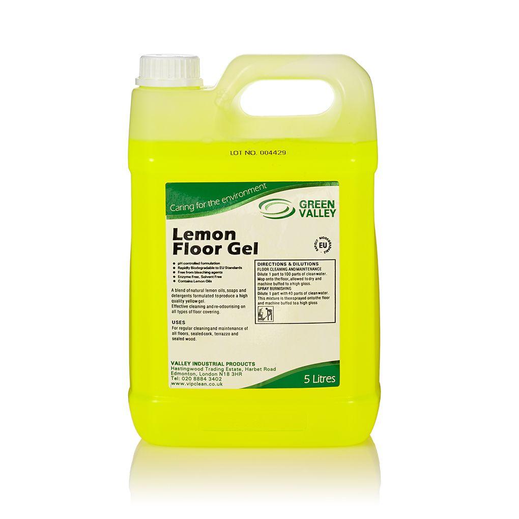 Green Valley Lemon Floor Gel 5l Vip Clean