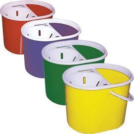 Lucy 15 Litre Mop Bucket ALL COLOURS SYR 5 Pack