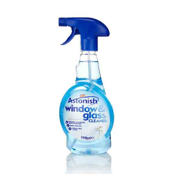 Astonish Window Amp Glass Cleaner 12x750ml Trigger Spray