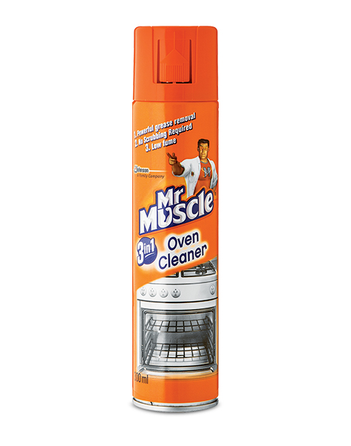 mr muscle oven grill cleaner 6x300ml vip clean. Black Bedroom Furniture Sets. Home Design Ideas