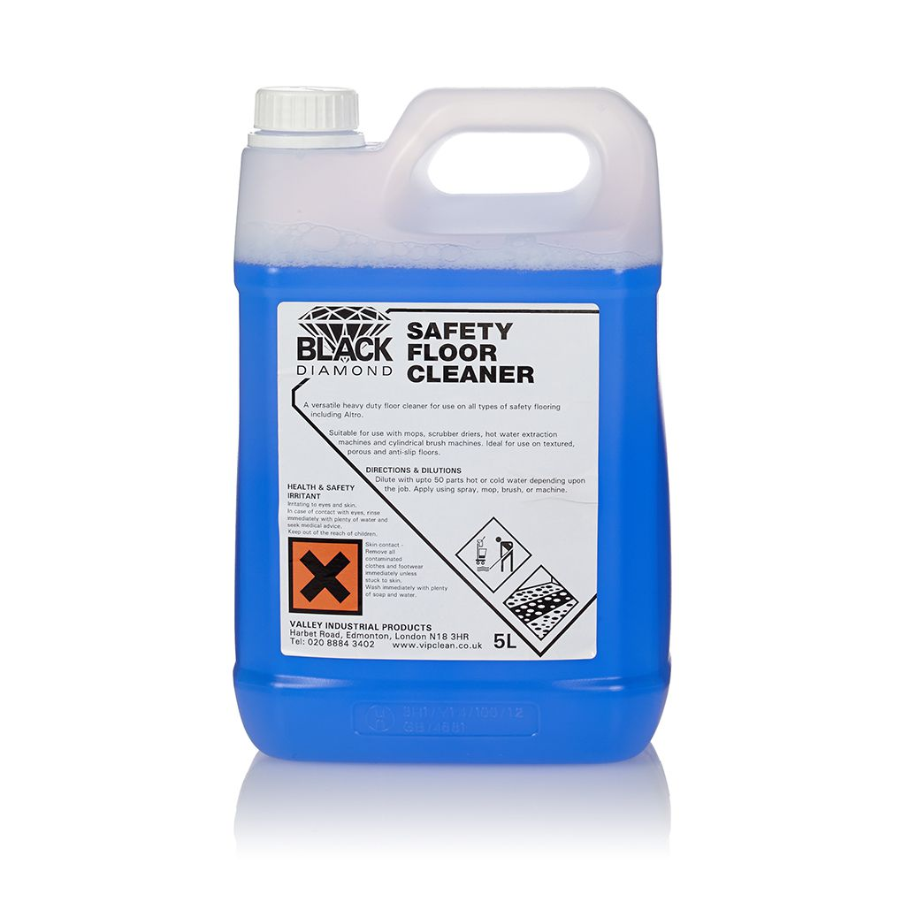 Black Diamond Safety Floor Cleaner 1x2x5 Litres Vip Clean