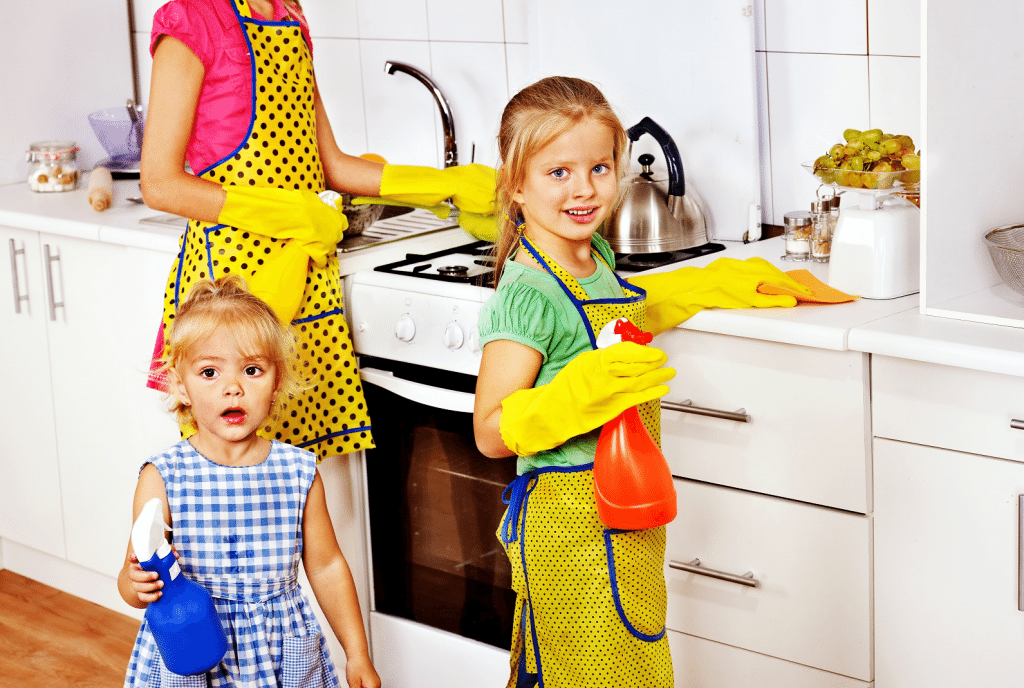 Keeping your House Safe for Children - VIP Clean