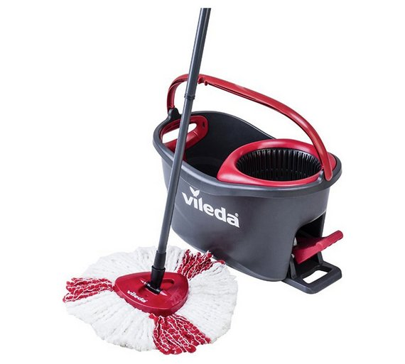 Vileda Easy Wring And Clean Turbo Mop And Bucket Set Vip